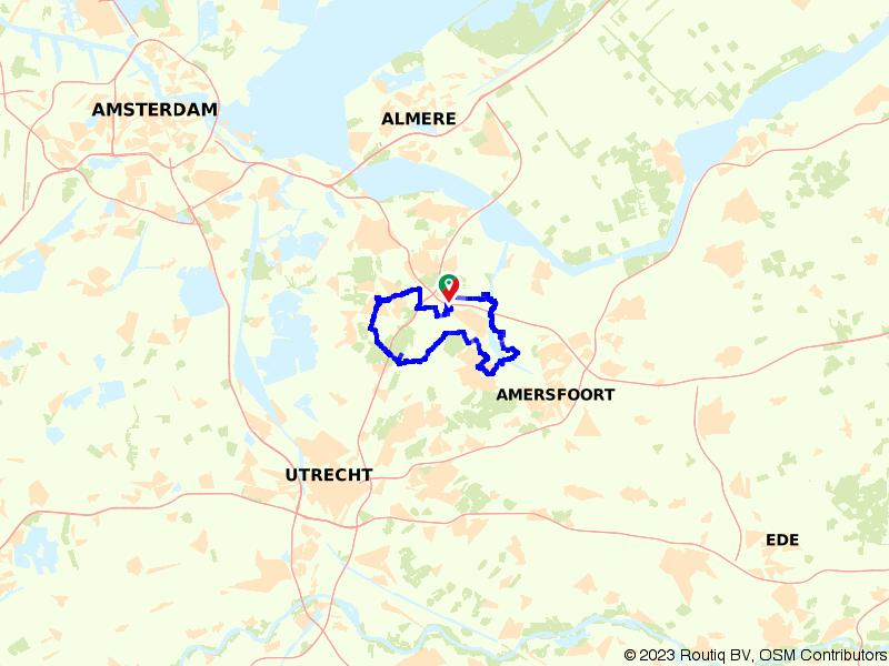 Koninklijk route naar Soestdijk en Drakensteyn