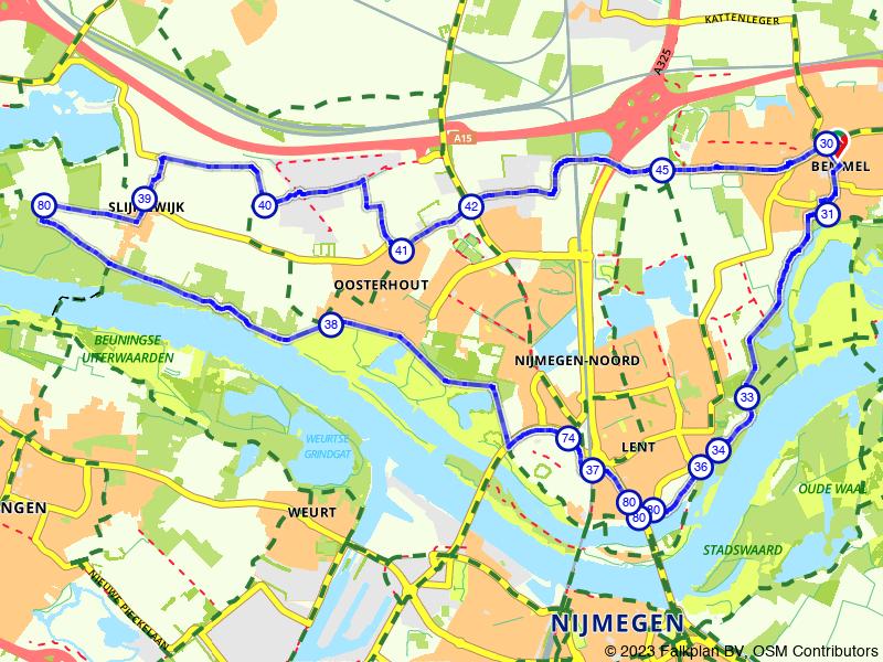 De mooie dorpjes boven Nijmegen