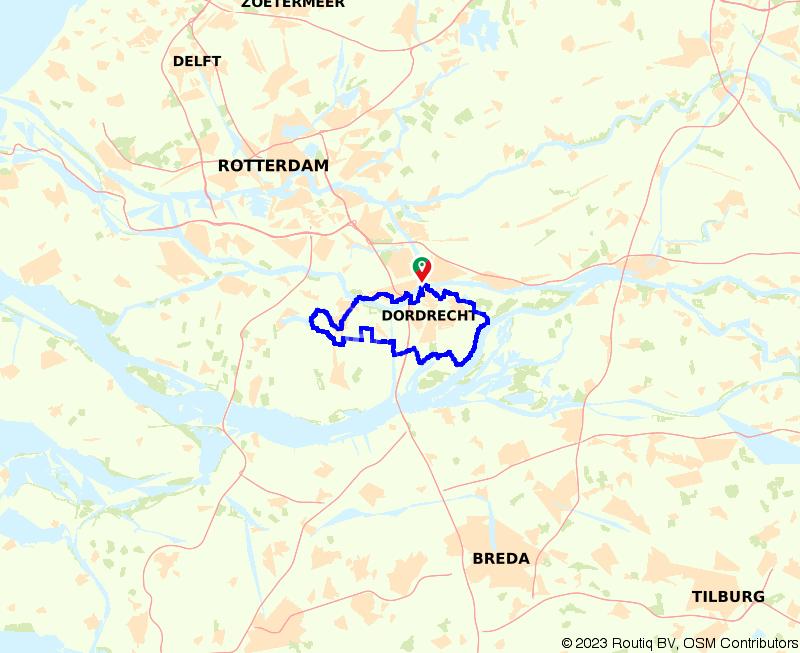 Door Dordrecht: rondje stad en natuur
