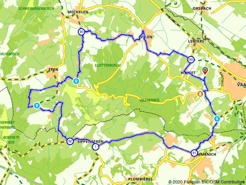 Op je gemak door Zuid-Limburg fietsen