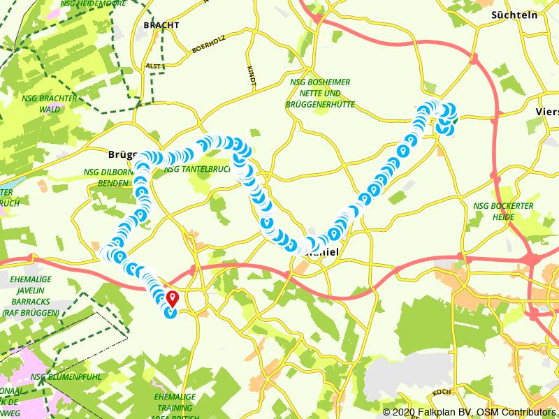 BahnRadweg Deel 2