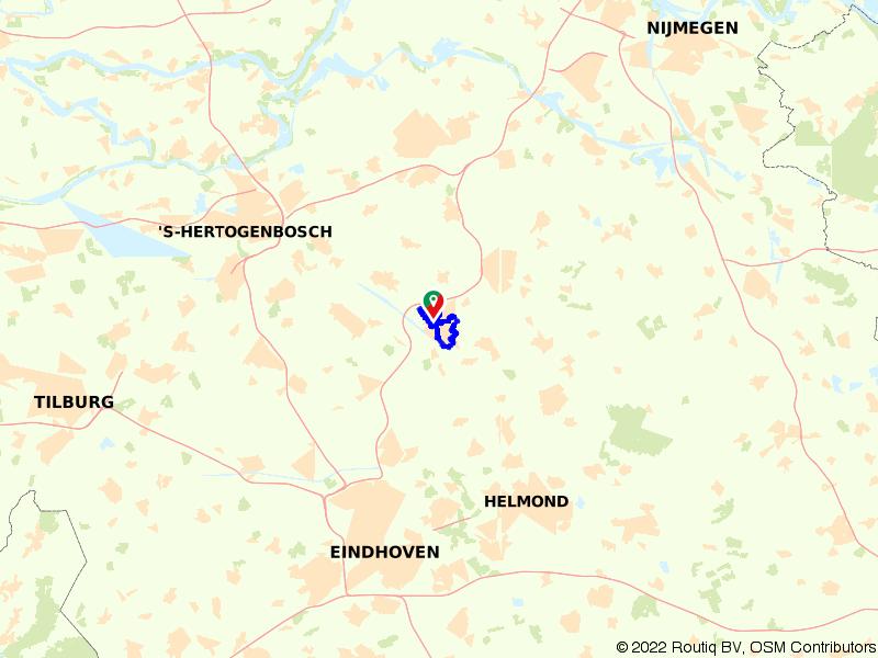 Rondje wandelen in Veghel