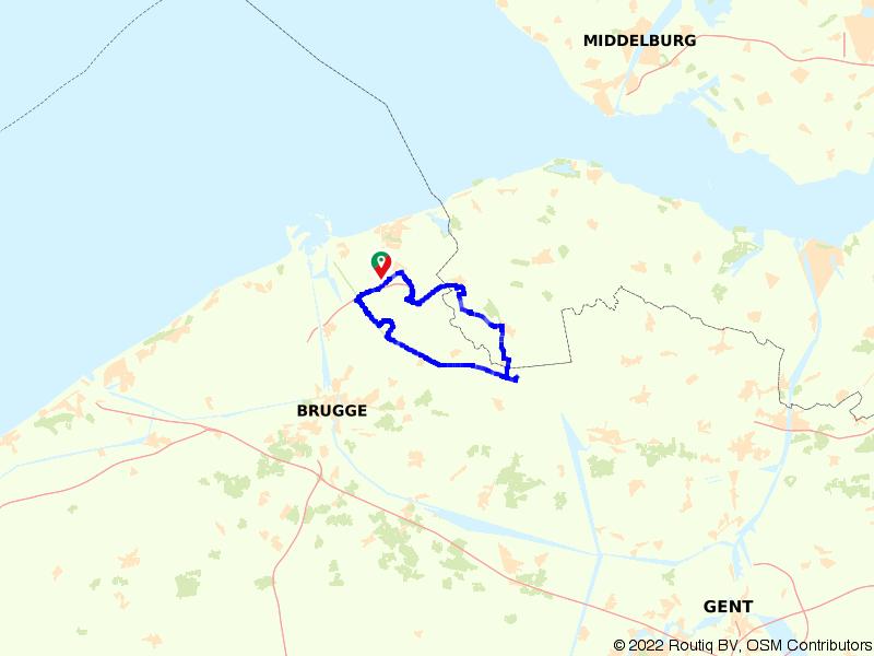 Langs het Kanaal van Schipdonk naar Aardenburg