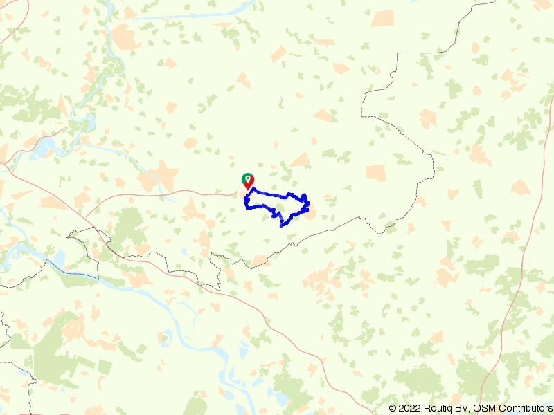 Van Varsseveld langs de Boven Slinge naar Aalten