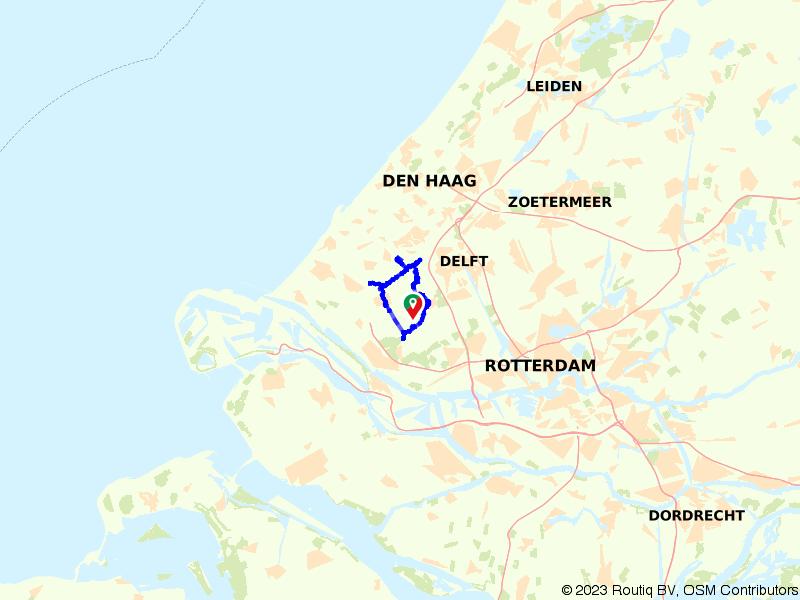 Auberginesoepfietsen door Westland en Midden-Delfland