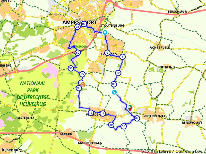 Ronde tussen Woudenberg en Leusden