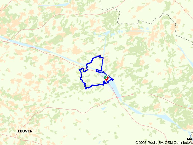 Op pad door Paal, Meerhout en Olmen