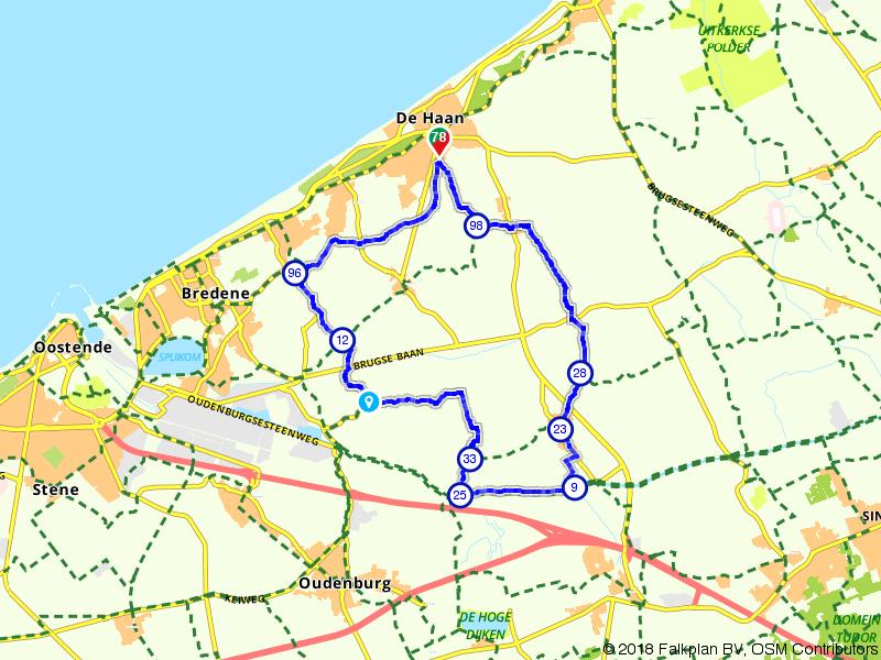 Tussen de Haan en Brugge