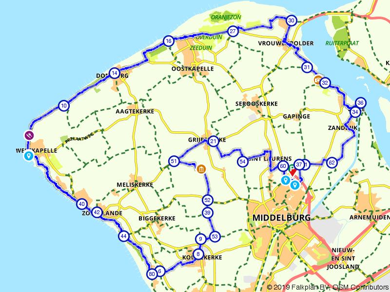 De ronde van Walcheren: kust en dorpjes
