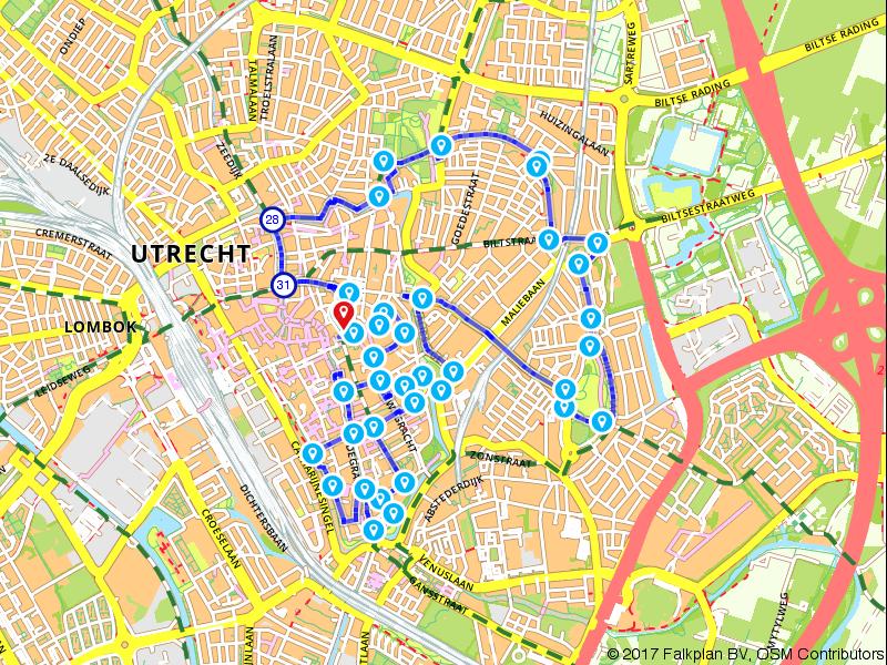 Ontdek Utrecht... Langs grachten, singels en parken