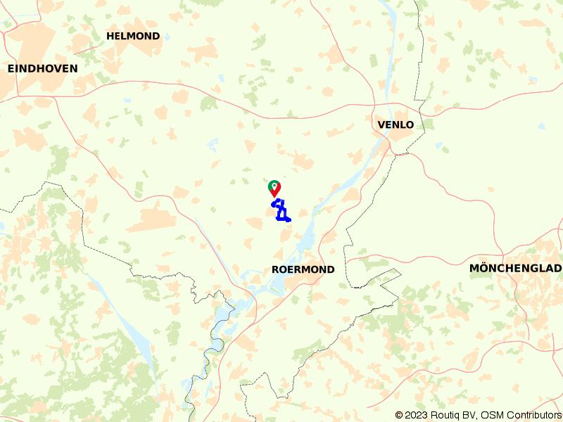 Wandelroute Leudal vanuit Roggel