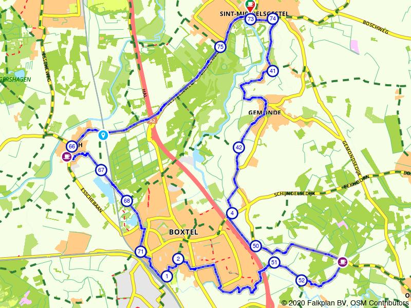 Kroegjesroute Boxtel en Sint Michielsgestel