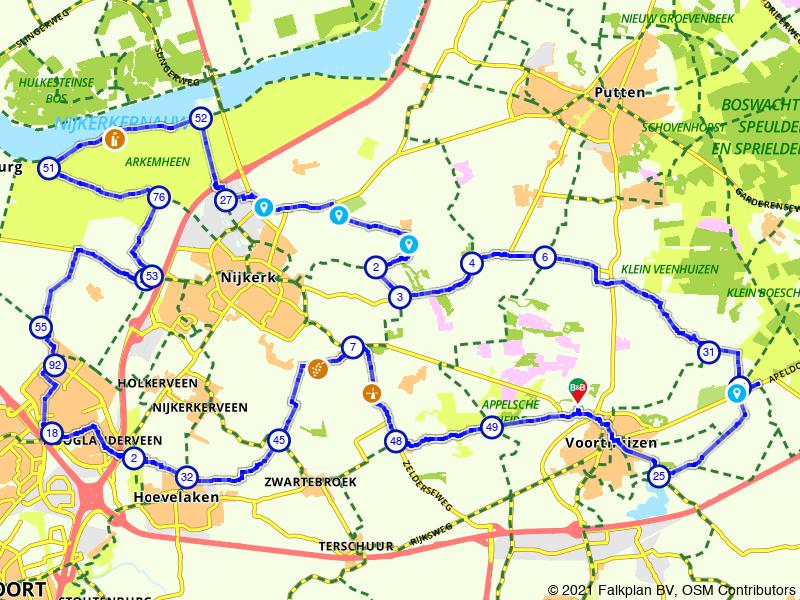 Lekker fietsen door de Gelderse Vallei