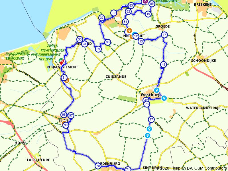 Mooie historische plaatsjes in West-Zeeuws-Vlaanderen