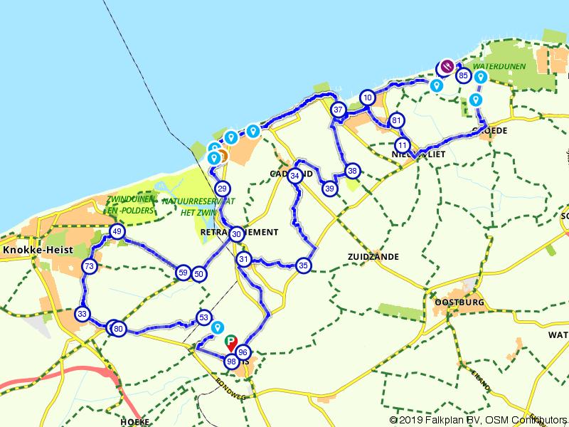 De grens over in Zeeuws Vlaanderen