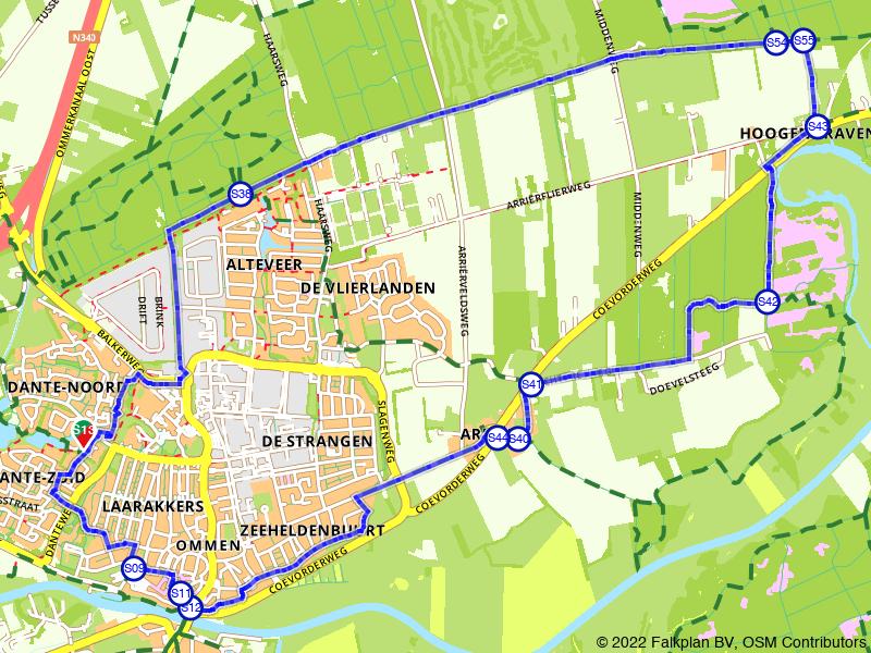 Rondje Laag Zuthem vanuit Zwolle