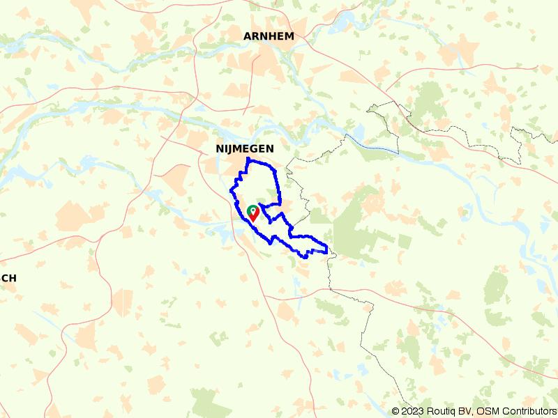 Nijmeegse Wandel4daagse Dag 3: De dag van Groesbeek