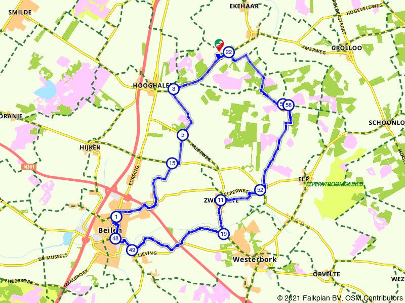 Rondje Westerbork: naar de uitkijktoren