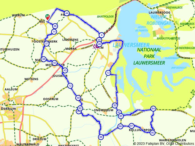 Langs de oevers van de Waddenzee en Lauwersmeer
