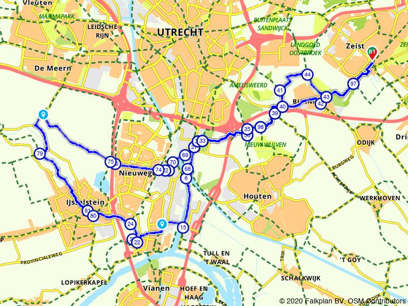 Voorstel 29 juli Rijnenburg / IJsselstein