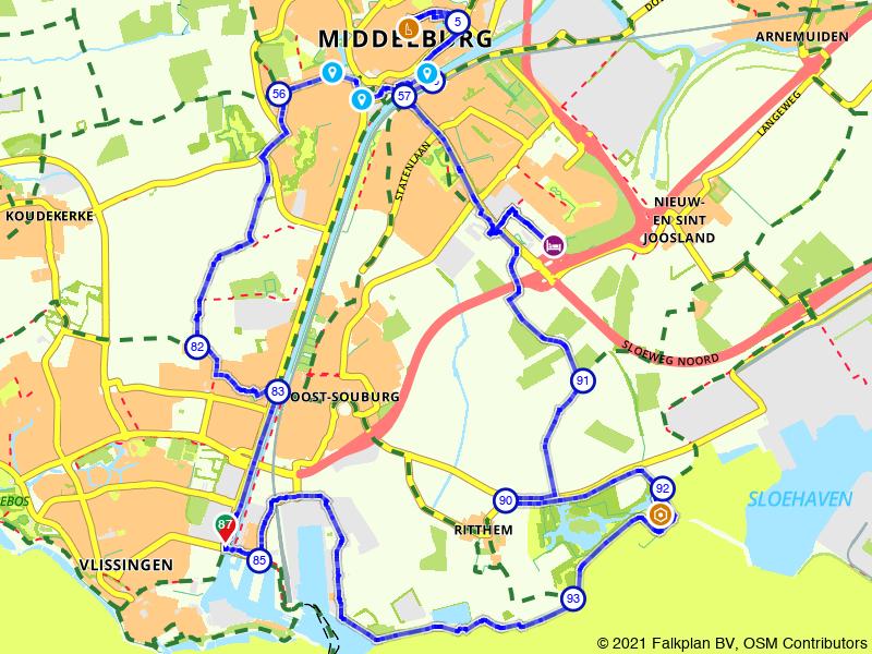 Rondje bezienswaardigheden van Vlissingen en Middelburg