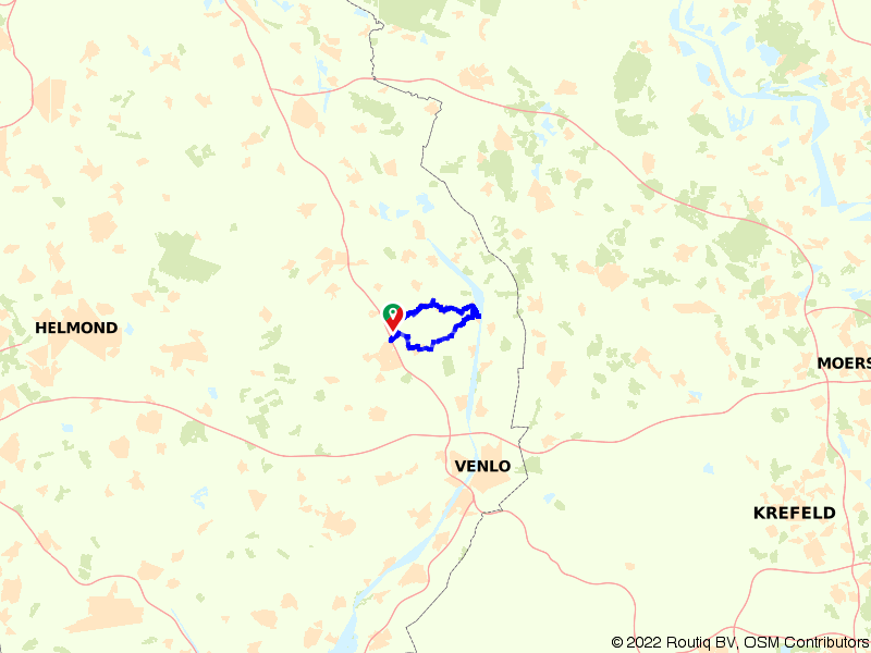 Scootmobielroute Noord-Limburg 1