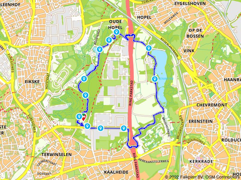 Kastelenwandeling: rondje Anstelvallei en Kasteel Strijthagen