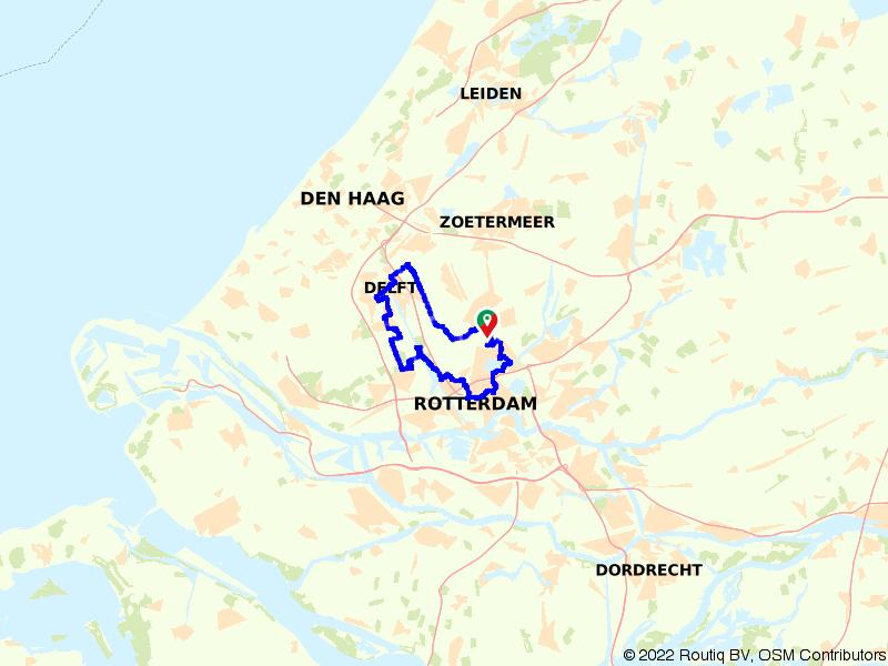 Rondje stad en natuur: Delft en Rotterdam
