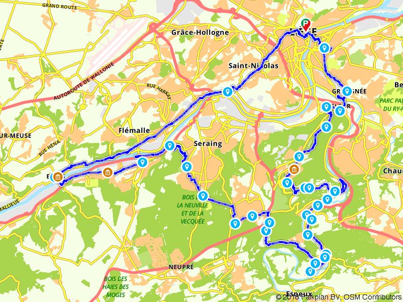 Een tocht door het Luikse land
