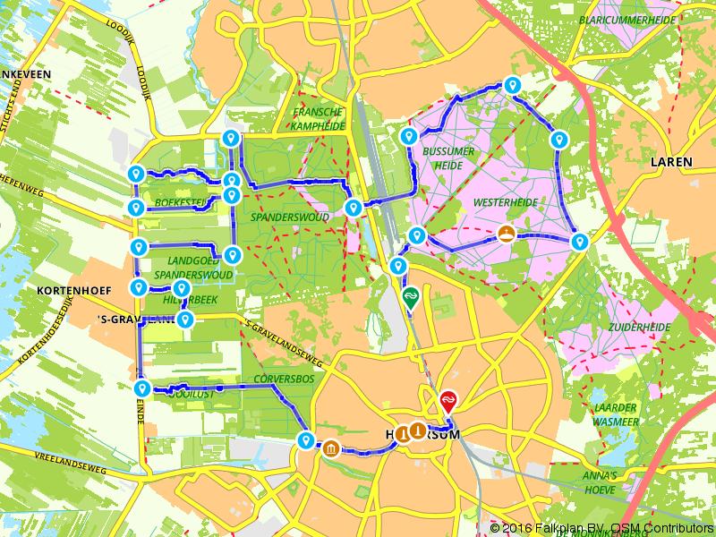 Wandelen in Het Gooi met Jacobus Craandijk