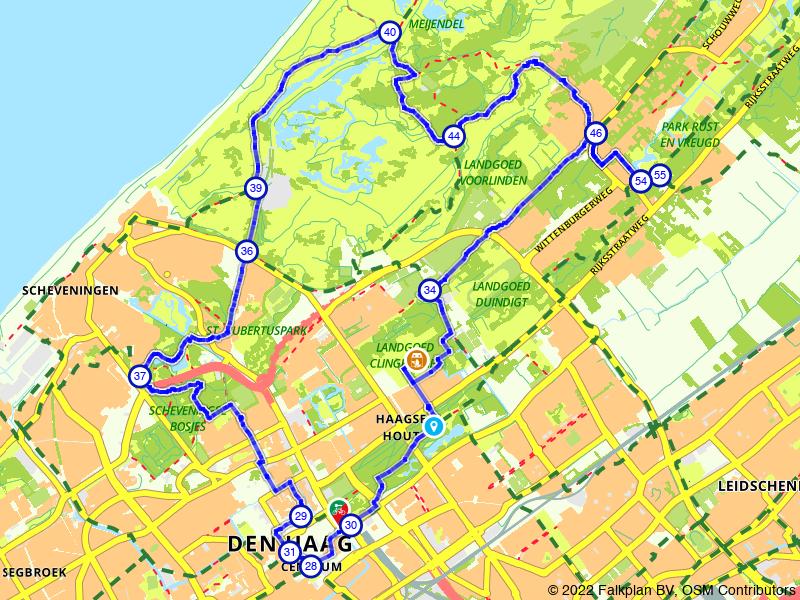 Scheveningen en een bezoek aan landgoed Clingendael