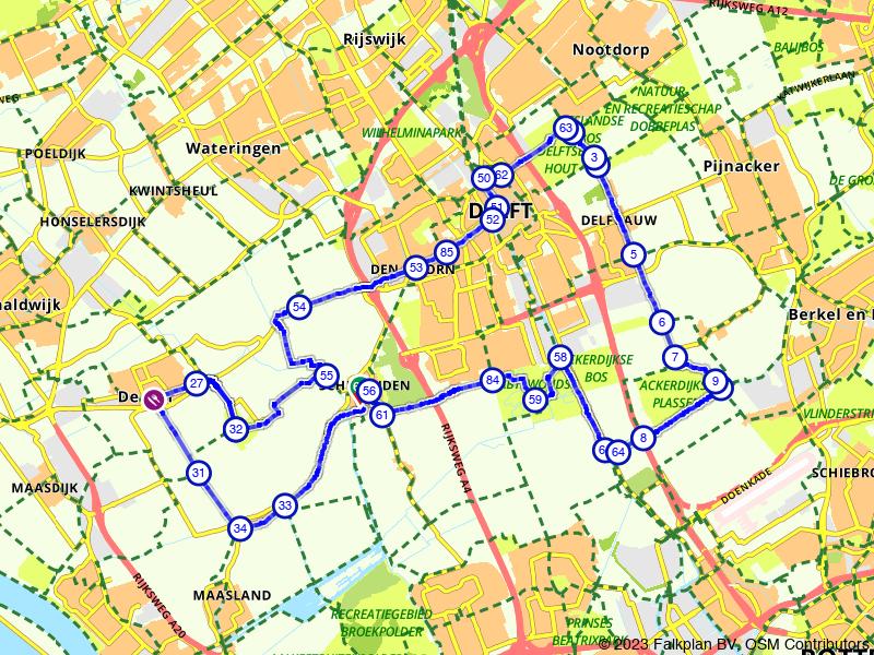 Delft en omgeving