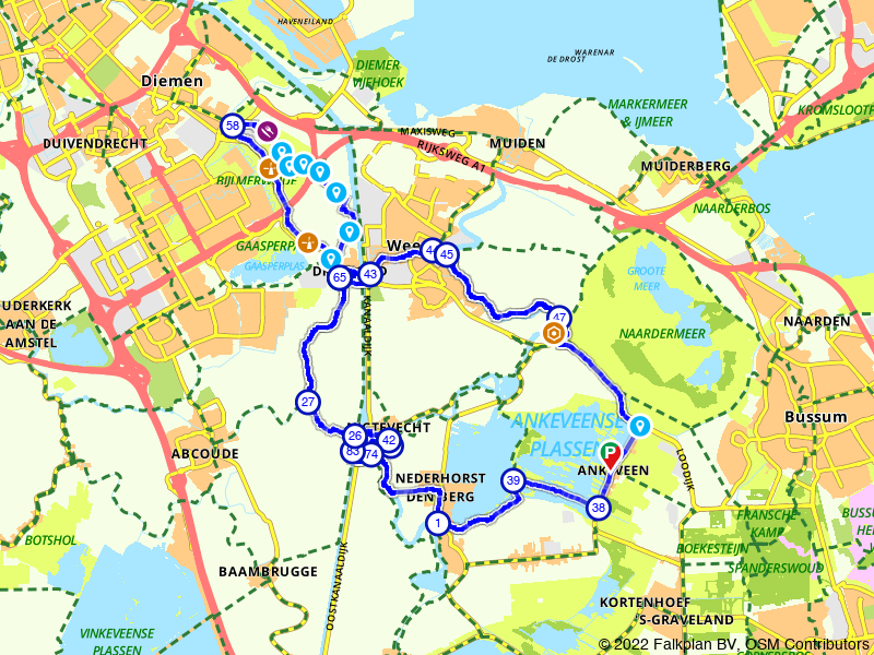 Fietsen langs oude Hollandse forten