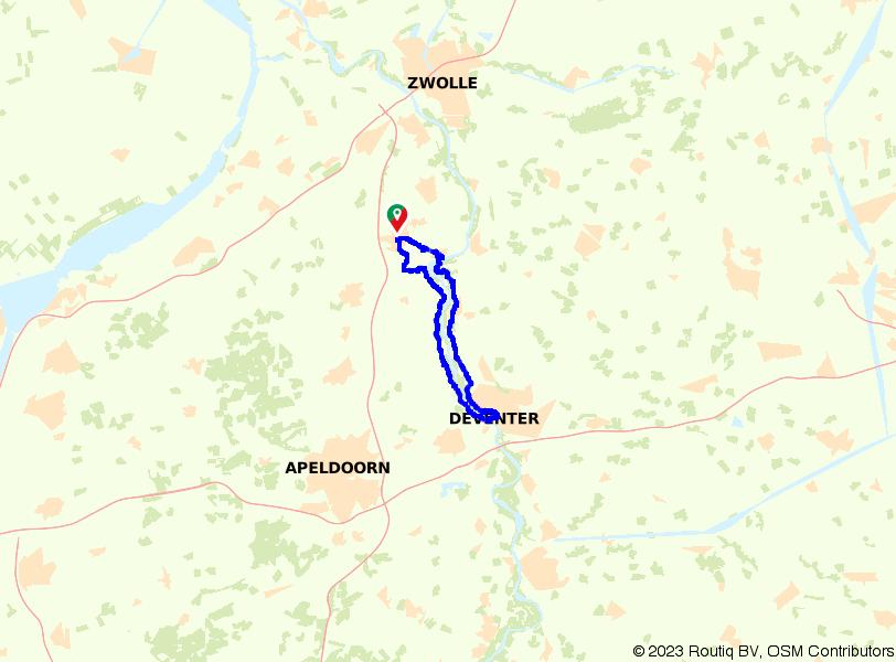 Een rondje door de IJsselvallei