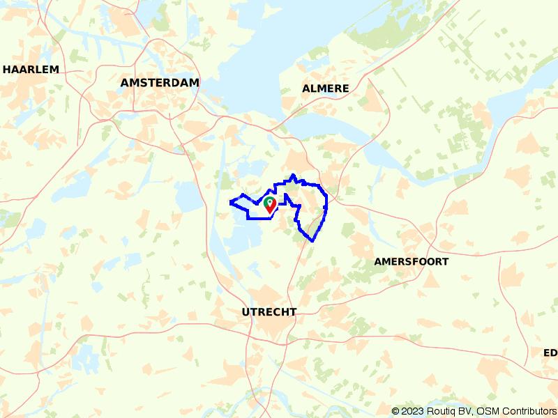 Hilversum, stad in het groen