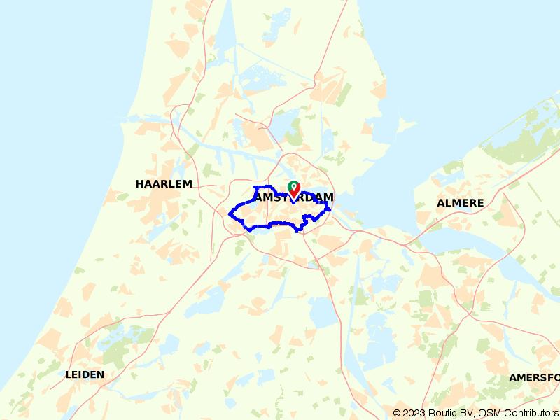 Op de fiets door het mooie Amsterdam