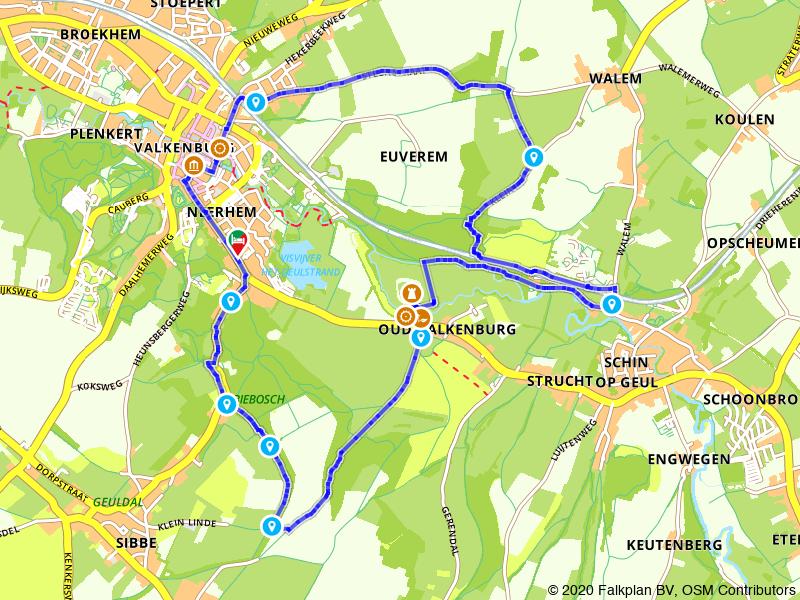 Wandelen door Valkenburg en het idyllische Geuldal