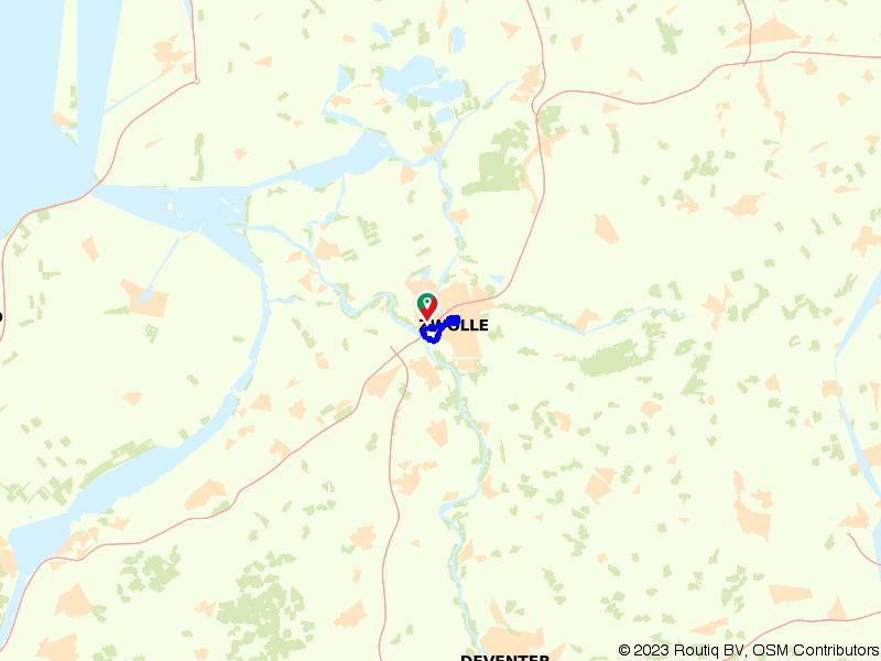 Stadswandeling in het centrum van Zwolle