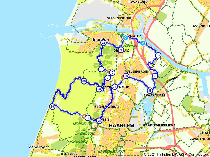 Door en om Nationaal Park Zuid Kennemerland