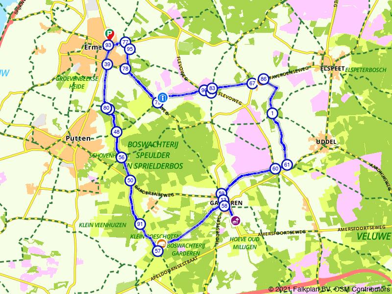 Ontdek het Veluwse groen rond Ermelo