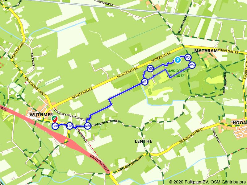 Rondje Landgoed de Horte bij Zwolle