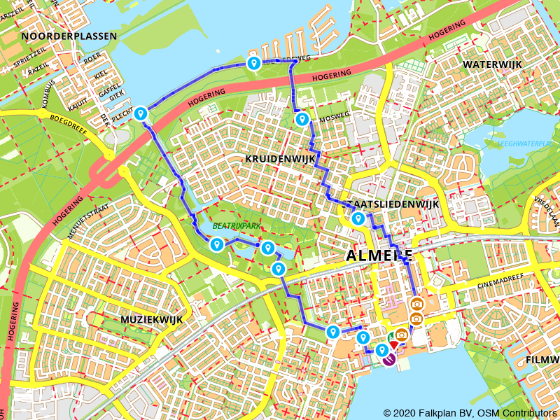 Rondje architectuur in Almere