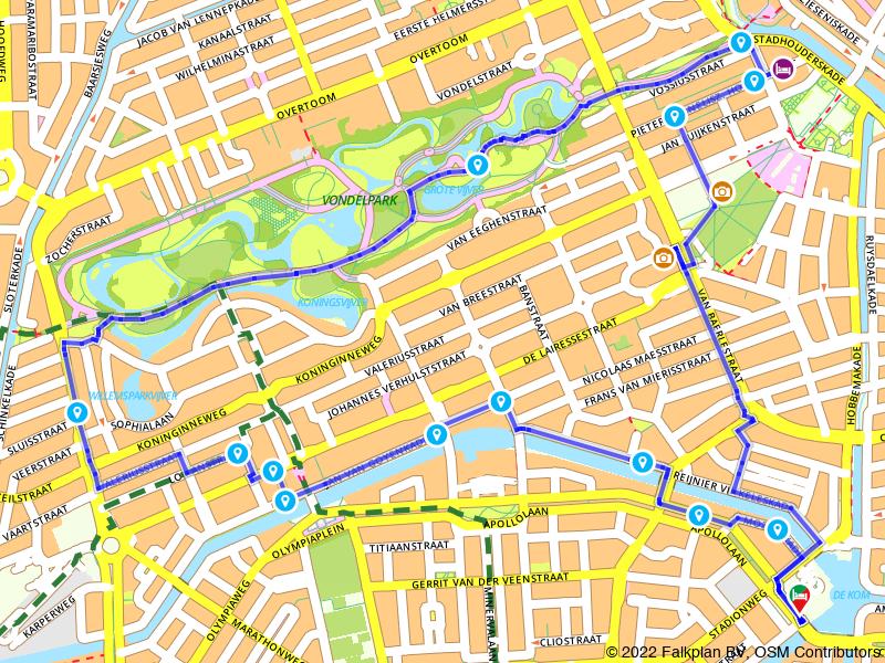 Stadswandeling Oud-Zuid: Vondelpark en Museumplein