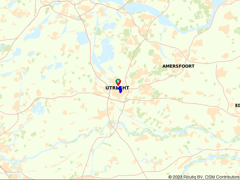 Stadswandeling Utrecht langs Oudegracht, singels en Dom