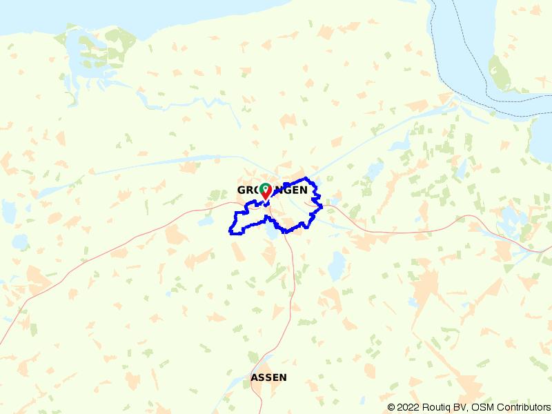 Rondje Woldmeer, Paterswoldsemeer en Peizermaden vanuit Groningen