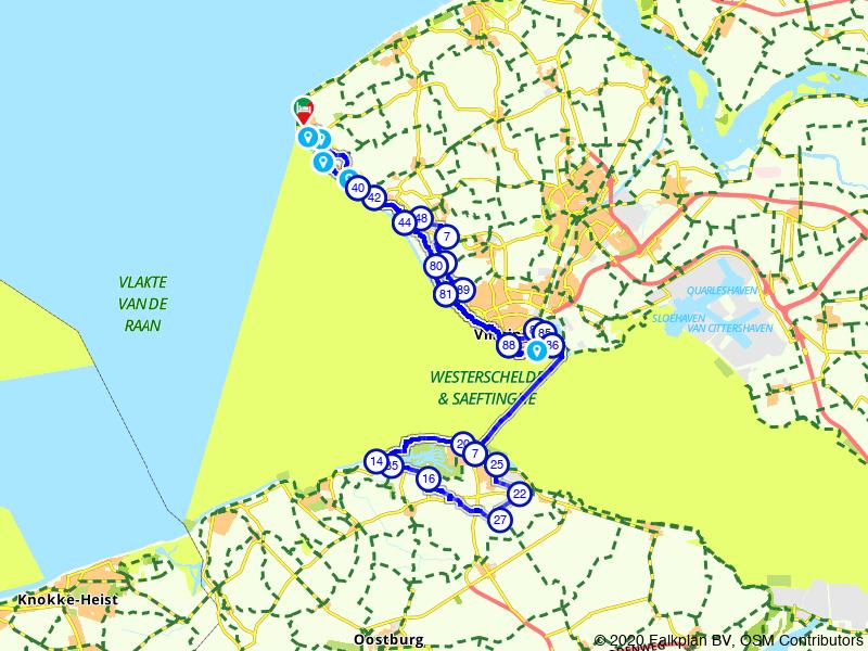 Rondje Zeeuws-Vlaanderen vanuit Walcheren