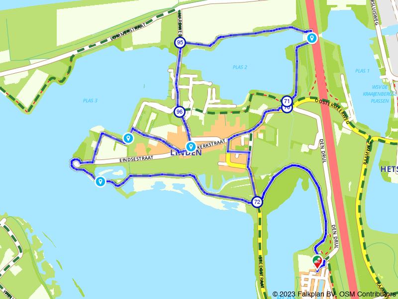 Rondje Linde en Kraaijenbergse Plassen