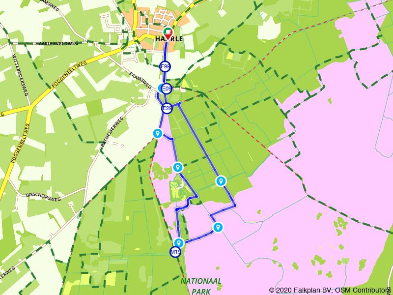 Rondje Haarle en Landgoed Sprengenberg
