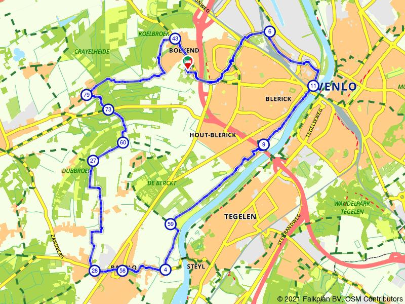 E-kickbiketour Maashof | Baarlo