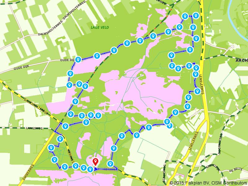 MTB route Lemele